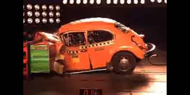 Crash test Volkswagen Garbus