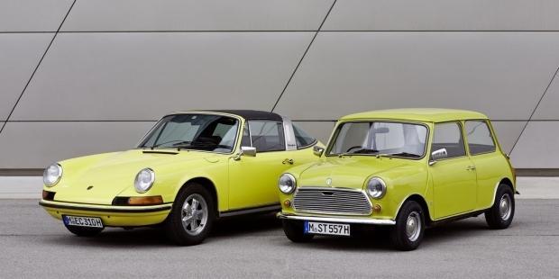 Mini świętuje 50 rocznicę Porsche 911